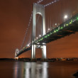 Постер, плакат: Verrazano Narrows Bridge at Night