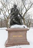 Robert Burns, Central Park, NYC — ストック写真
