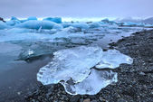 Glacier Lagoon, Jokulsarlon, Iceland — Stock Photo
