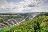Open Pit Gold Mine, Africa — Stock Photo