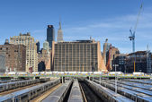 West Side Train Yard — Stock Photo