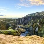 Fjadrargljufur Canyon, Iceland — Stock Photo #46129749