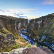 Fjadrargljufur Canyon, Iceland — Stock Photo #46129753