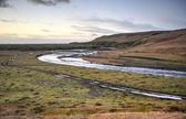 Fjadra River flowing into Fjadrargljufur Canyon — Stock Photo