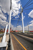 Nelson Mandela Bridge, Johannesburg, SA — Stock Photo