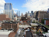 View of the Westside of NY Looking North — Stock Photo