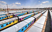 Braamfontein Railway Yards, Johannesburg — ストック写真
