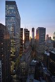 Twilight over Lower Manhattan — Stock Photo