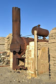 Harmony Borax Works, Death Valley — Stock Photo