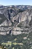 Demi dôme de vallée d'yosémite — Photo