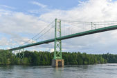 The Thousand Islands Bridge — Stock Photo