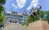 New York State Capitol Building, Albany — Stock Photo