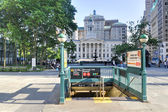 Brooklyn Borough Hall Subway Station — Stock Photo