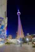 Toronto CN Tower at Night — Stock Photo