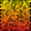 Seamless abstract hexagon background. Vector - Stock Vector