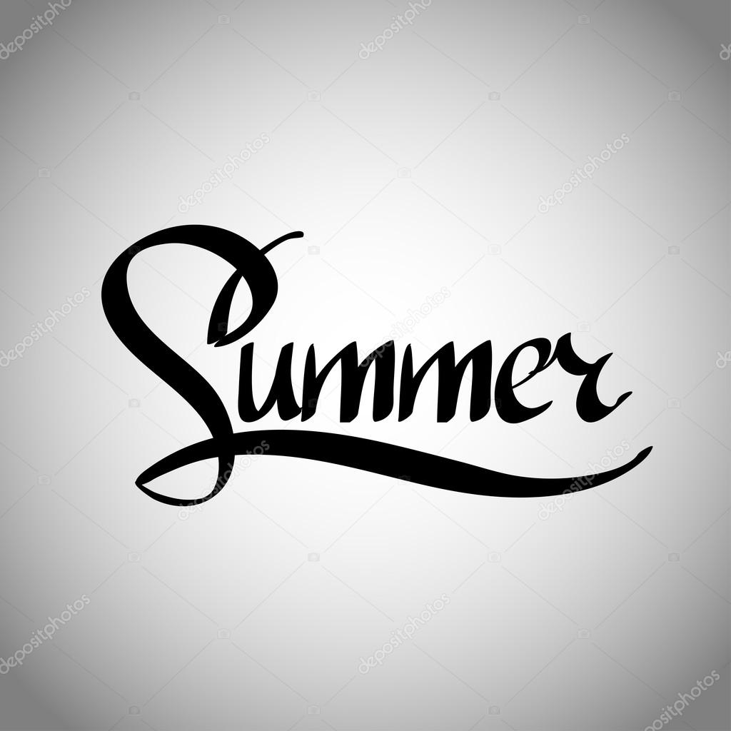 Картинки надписи про лето