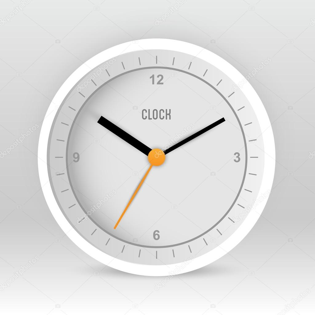 Charming clock vector pics