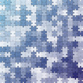 Seamless color puzzles background — Stockvektor