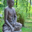 Royalty-Free Stock Photo: Zen stone buddha statue in nature