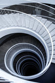 Graphic spiral stairs — Stock Photo