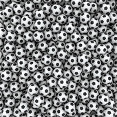 Soccer balls background — Stock Photo