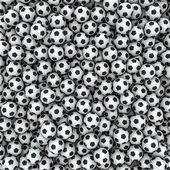 Fondo de pelotas de fútbol — Foto de Stock