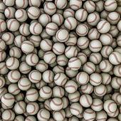 Baseballs background — Stock Photo