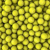 Tennis balls background — Stock Photo