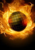 Disco inferno — Stock Photo