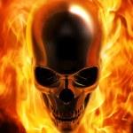 ������, ������: Fire skull