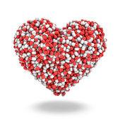 Heart pills — Stock Photo