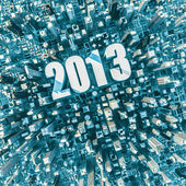 City 2013 — Stock Photo