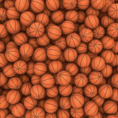 Basketballs background — Stock Photo