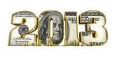Hundred dollar 2013 — Stock Photo