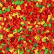 Giant building blocks background - Stock Photo