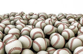 Baseballs pile — Stock Photo