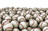 Baseballs pile — Stock Photo