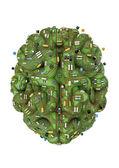 Circuit hersenen — Stockfoto
