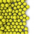 Tennis balls spill — Stock Photo #23311648
