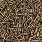 Rifle bullets background — Stock Photo