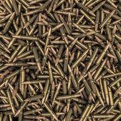 Rifle bullets background — Stock Photo