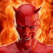 The devil — Stock Photo
