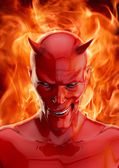 şeytan — Stok fotoğraf