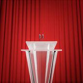 Award press conference — Stock Photo