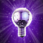 Disco bulb — Stock Photo