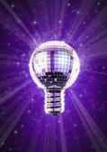 Discoteca lampadina — Foto Stock