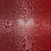 Ultimate heart maze — Stock Photo