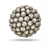 Baseball sphere — Stock Photo