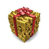 Money gift pounds — Stok fotoğraf