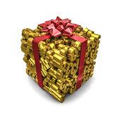 Money gift euros — Stok fotoğraf